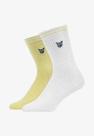 2PACK - Socks - lemon haze