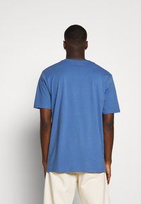 Weekday - FRANK - T-shirt - bas - navy - 2