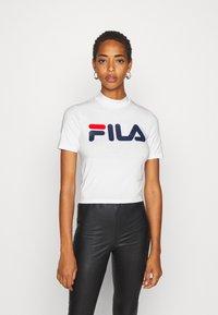 Fila Tall - EVERY TURTLE TEE - T-shirt print - bright white - 0