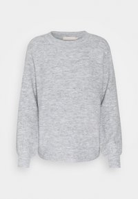 Pieces - PCPERLA  - Jumper - light grey melange - 4