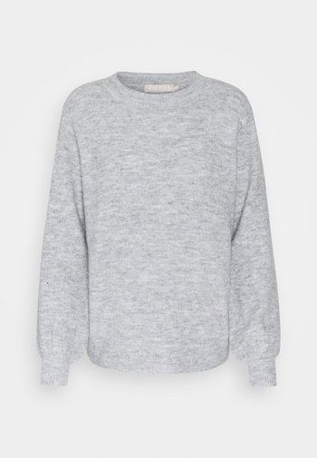 PCPERLA  - Jumper - light grey melange