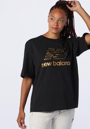 ATHLETICS VILLAGE - Print T-shirt - black