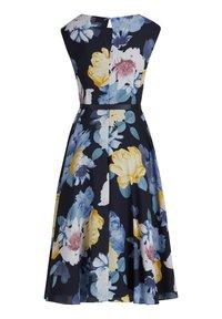 Vera Mont - MIT PRINT - Day dress - dark blue/yellow - 3