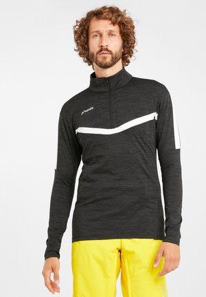 SKIROLLI BEAT - Long sleeved top - heatherblack