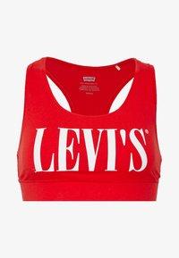 Levi's® - LOGO SPORTS BRA - Top - brilliant red - 4