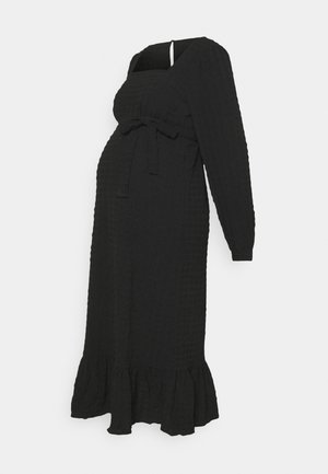 PCMKUMA MIDI DRESS - Robe en jersey - black