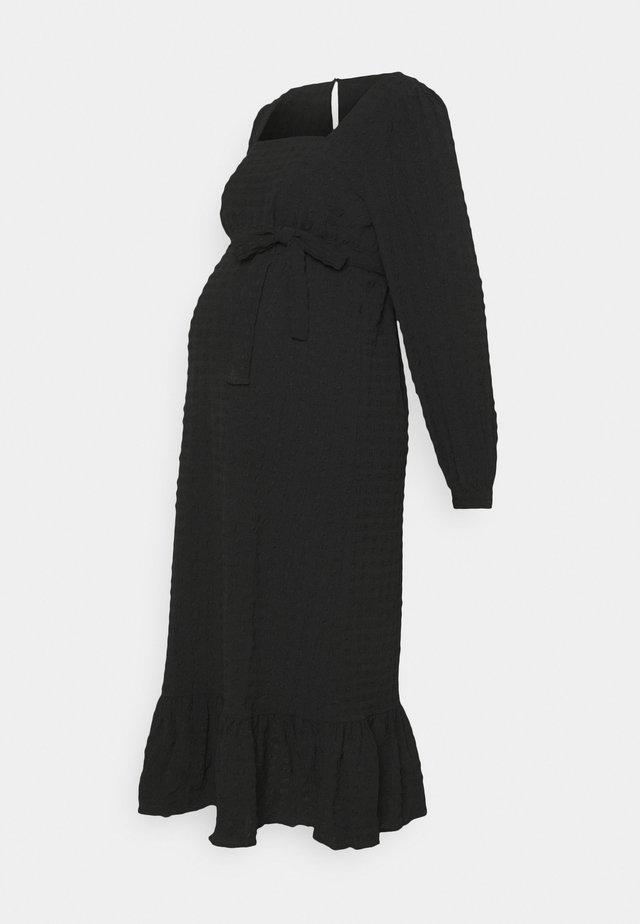 PCMKUMA MIDI DRESS - Jerseyklänning - black