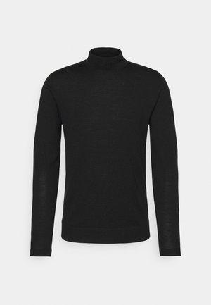 NEAL TURTLENECK - Stickad tröja - black