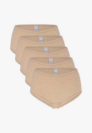 5ER PACK SOFTFEELING - Onderbroeken - skin