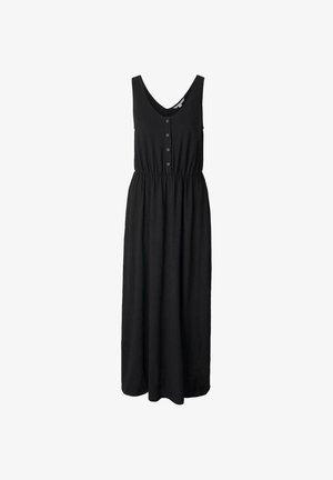 Vestido largo - deep black
