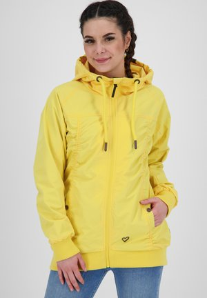 Outdoor jacket - lime