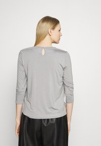 More & More - PATCHED - Long sleeved top - new grey - 2
