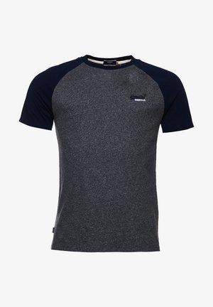Print T-shirt - black grit