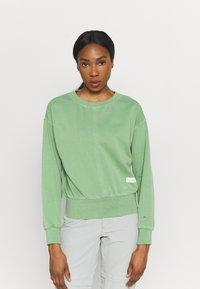 Icepeak - ELSINORE - Sweatshirt - antique green - 0