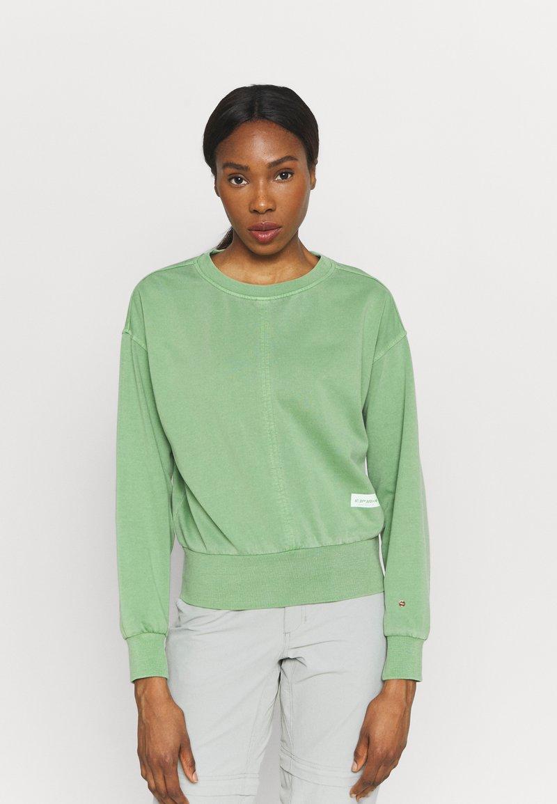 Icepeak - ELSINORE - Sweatshirt - antique green