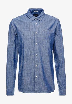 LONG SLEEVE WITH POCHET POCKET - Skjorte - blue denim