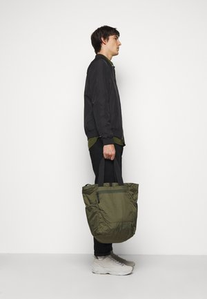 LIGHT TOTE  BAG & BACKPACK - Shopping bag - army