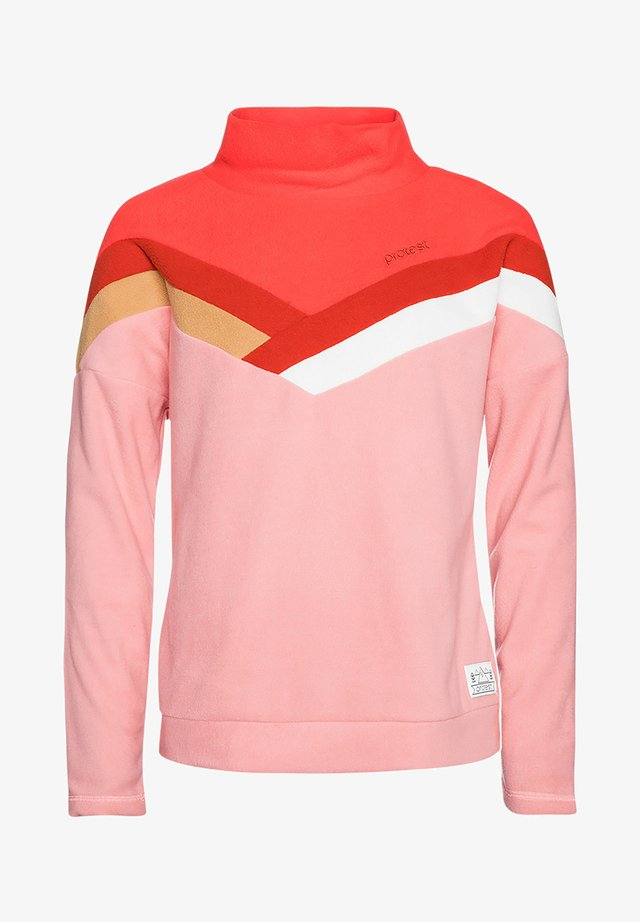 WINK JR  - Fleece jumper - think pink