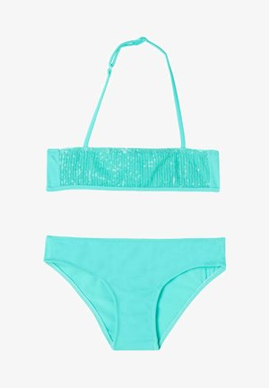 Bikini - paillettes water blue