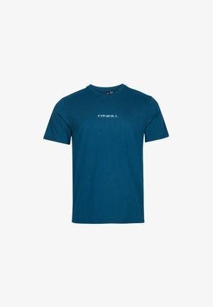 RETRO SUNSET - Print T-shirt - moroccan blue
