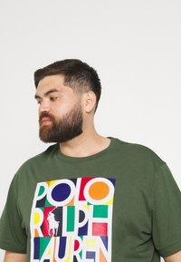 Polo Ralph Lauren Big & Tall - Print T-shirt - olive - 3