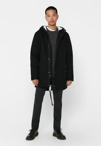 Only & Sons - Vinterkappa /-rock - black - 1
