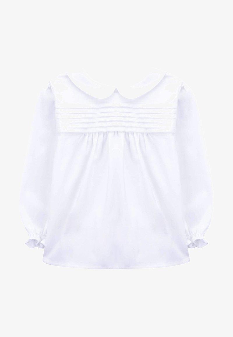 Knot - HIKKA - Button-down blouse - white