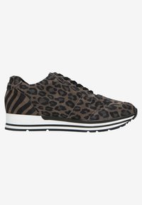 Manfield - MIT LEOPARDENMUSTER - Trainers - grey - 5