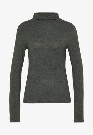PCJAWANNA LS MOCK  - Long sleeved top - rosin