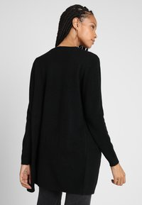 ONLY - ONLQUEEN LONG CARDIGAN - Cardigan - black - 2
