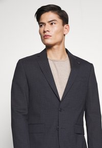 Tommy Hilfiger Tailored - SMALL CHECK SLIM FIT SUIT  - Suit - grey - 8