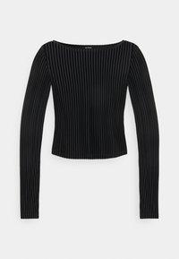 Monki - ULLE - Long sleeved top - black - 4