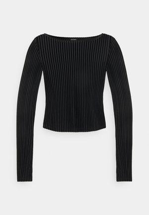 ULLE - Top sdlouhým rukávem - black