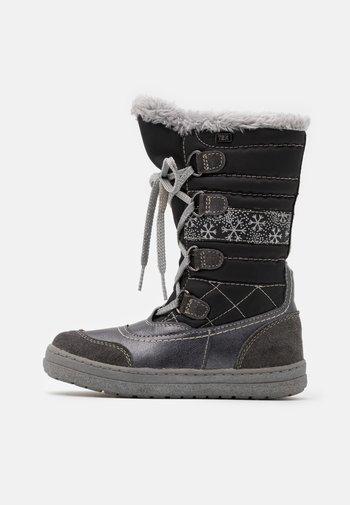 ALPY TEX - Zimní obuv - dark grey
