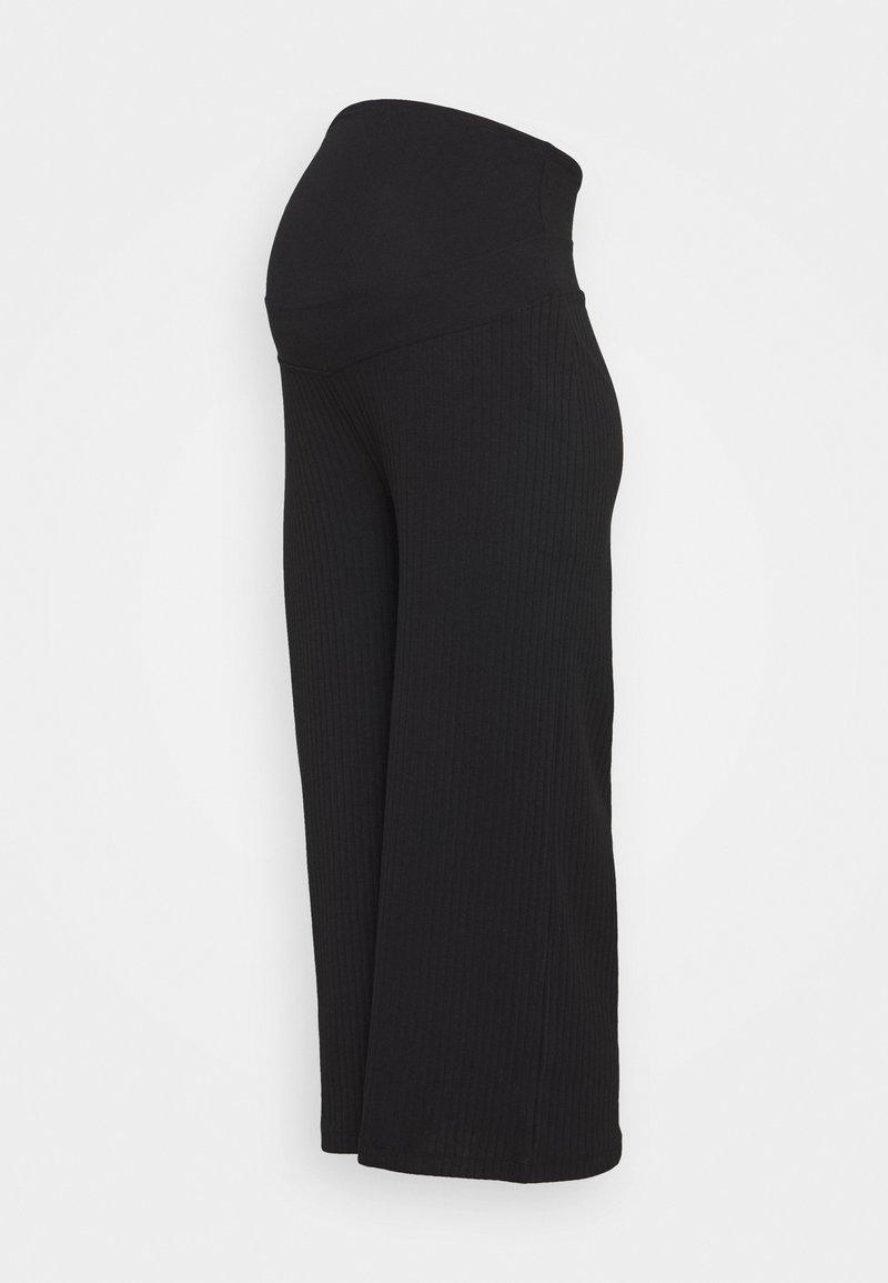 Anna Field MAMA - Teplákové kalhoty - black