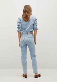 Mango - Jeans Tapered Fit - bleu clair - 2