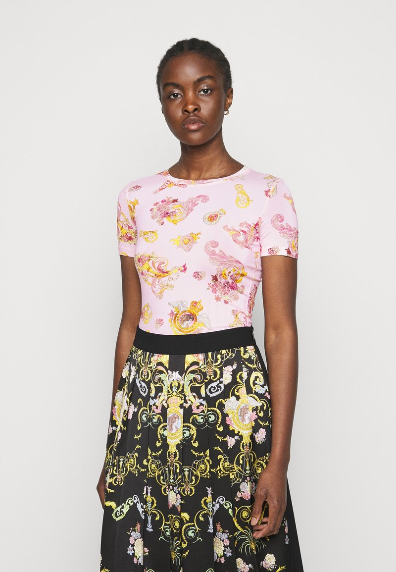 Versace Jeans Couture - LADY - Print T-shirt - pink confetti