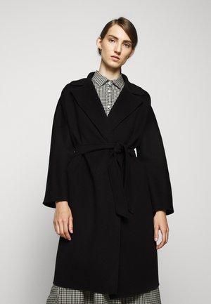 Płaszcz wełniany /Płaszcz klasyczny - schwarz