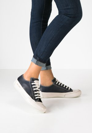 ROCK - Sneakers basse - navy/panna