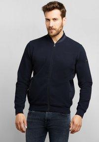 Bugatti - Zip-up sweatshirt - marine - 0