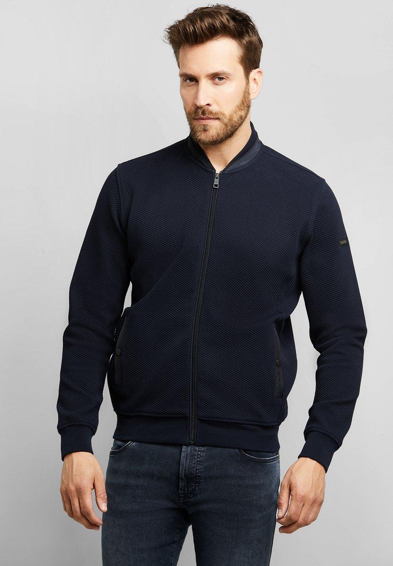 Bugatti - Zip-up sweatshirt - marine