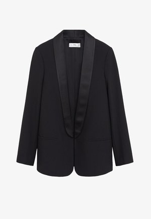 SMOKING - Blazer - black