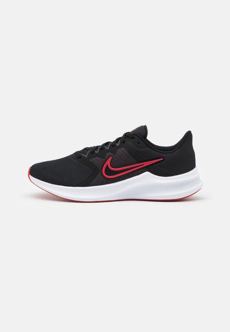 Nike Performance - DOWNSHIFTER 11 - Neutral running shoes - black/university red/white/dark smoke grey