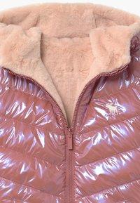 Abercrombie & Fitch - COZY PUFFER - Zimní bunda - pink shine - 2