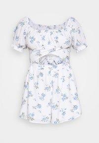 Hollister Co. - ROMPER - Jumpsuit - white floral - 4