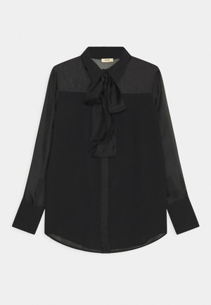 CAMICIA FIOCCO - Button-down blouse - nero