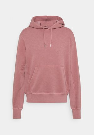 DAMON GARMENT DYE HOODIE - Sweat à capuche - rose