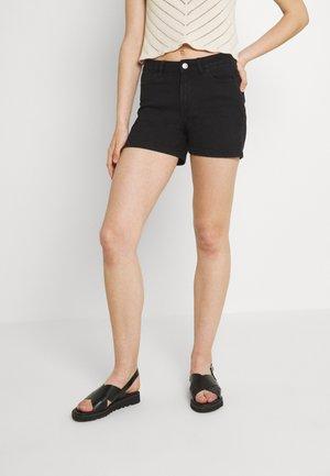 VIDINIA FAYA - Denim shorts - black denim