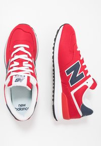 New Balance - Trainers - red/navy - 1