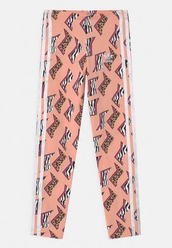 ANIMAL PRINT  - Leggings - Trousers - glow pink/multicolor/white